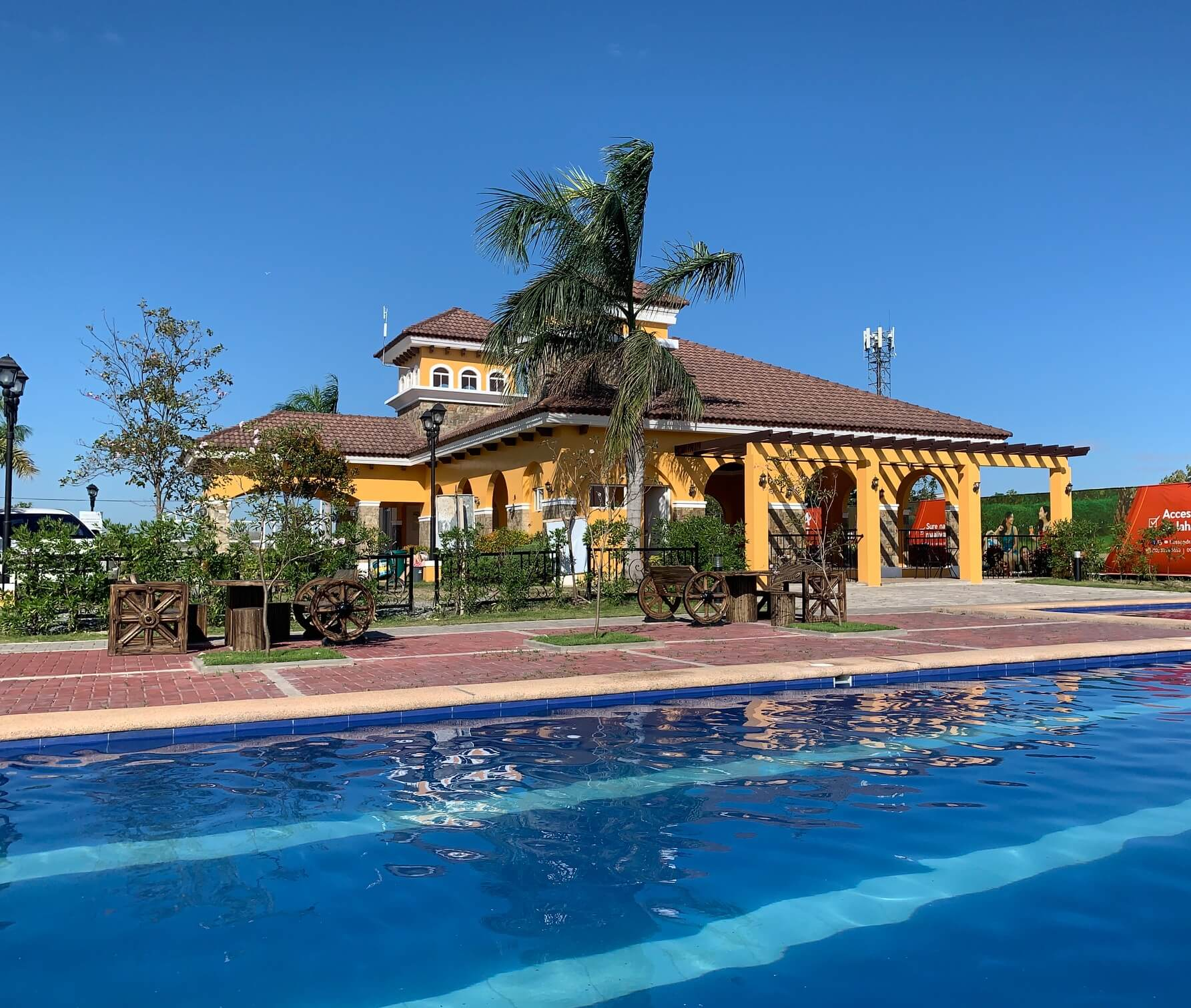 Clubhouse and Swimming pool at Lessandra Apalit in Apalit, Pampanga